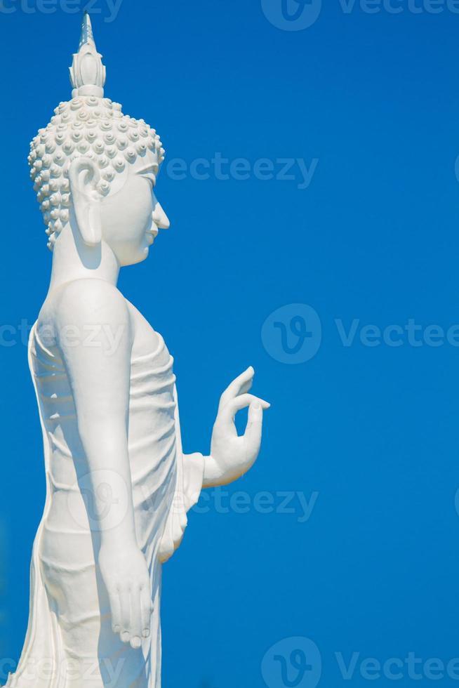 witte Boeddha foto