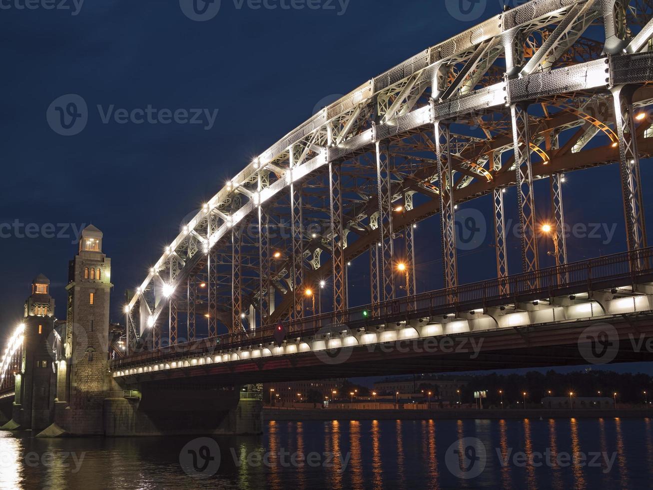 avond Sint-Petersburg foto