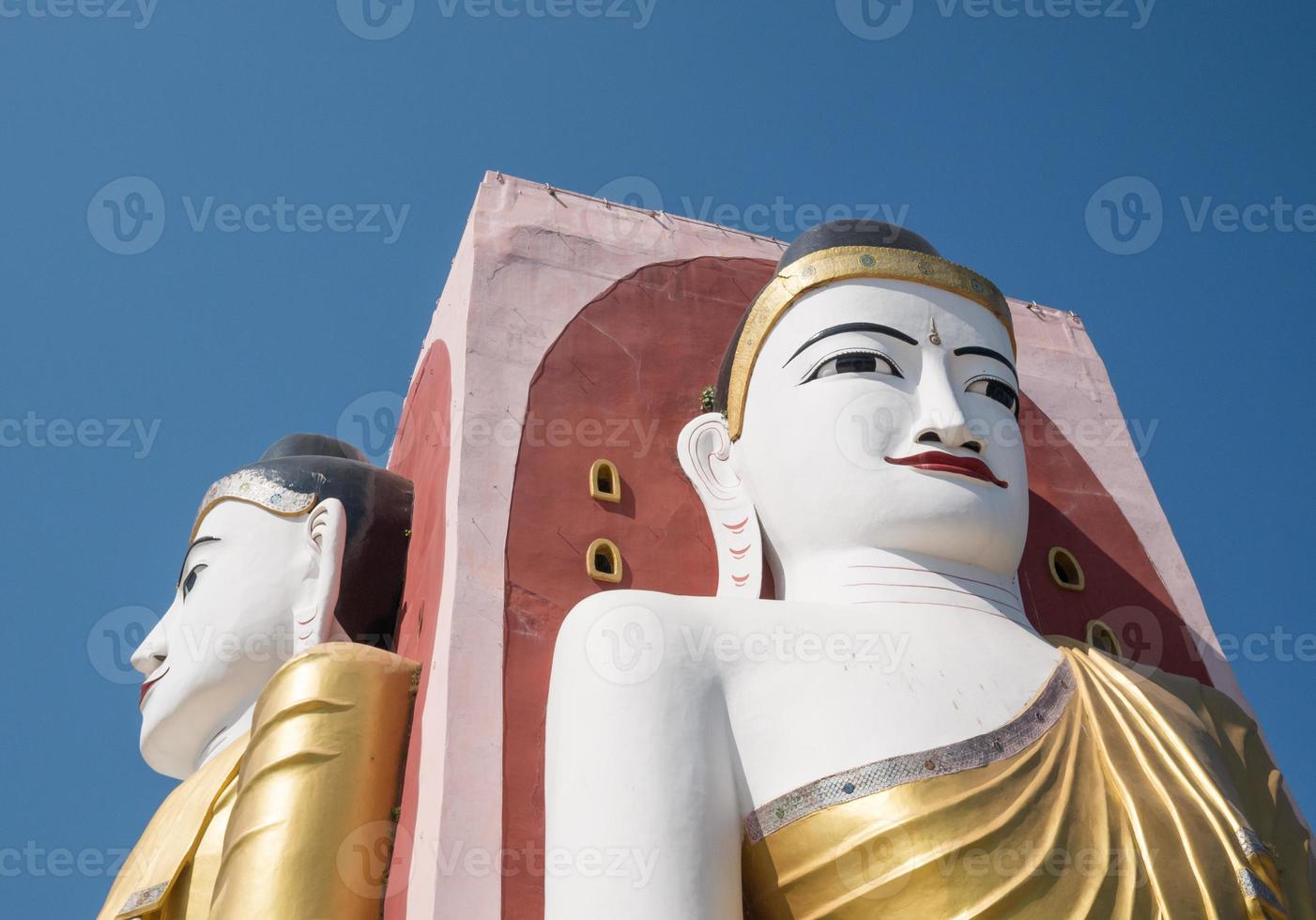 Boeddha in Myanmar foto