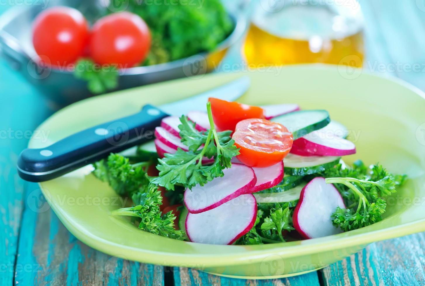 radijs salade foto