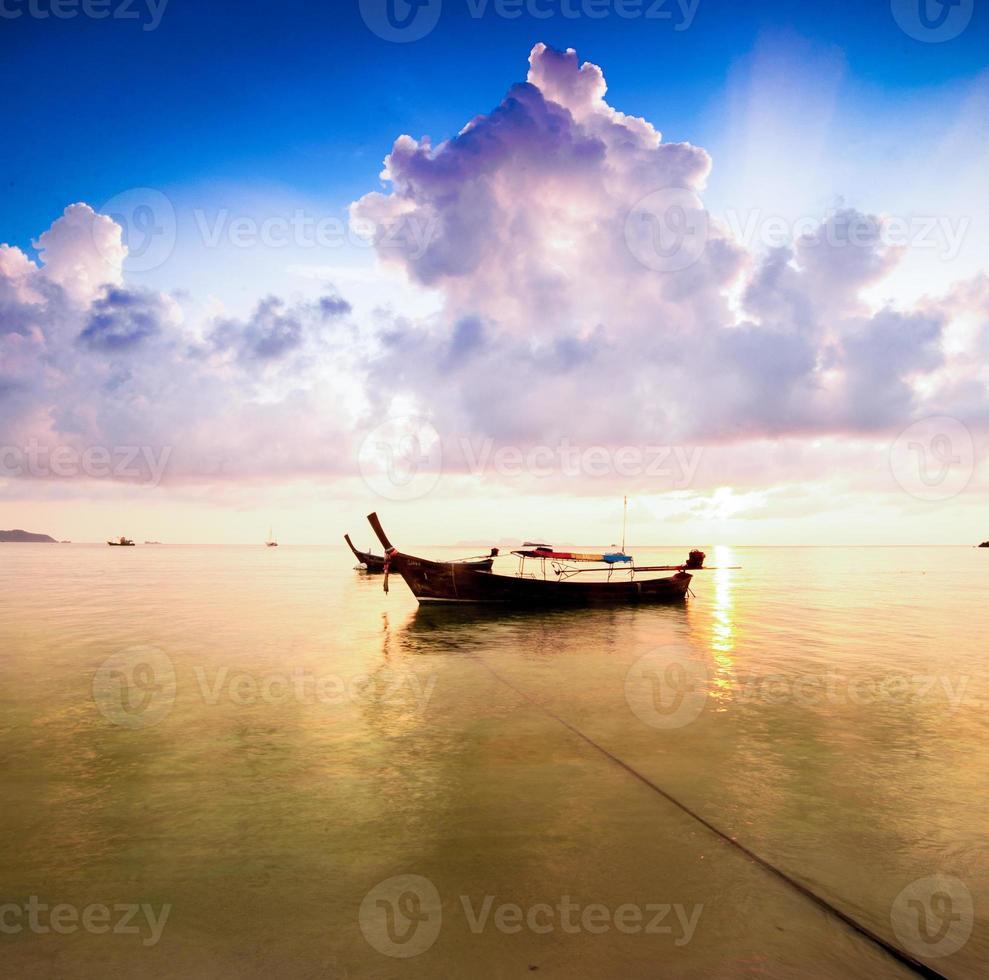 de aardlandschap van Thailand foto