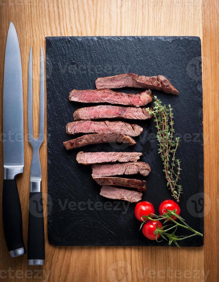 biefstukken foto