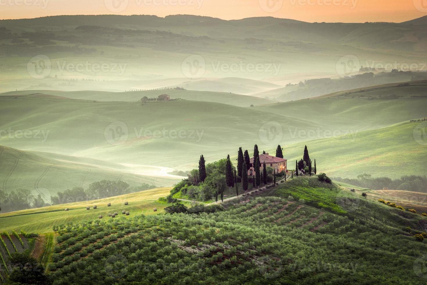 het Toscaanse landschap foto