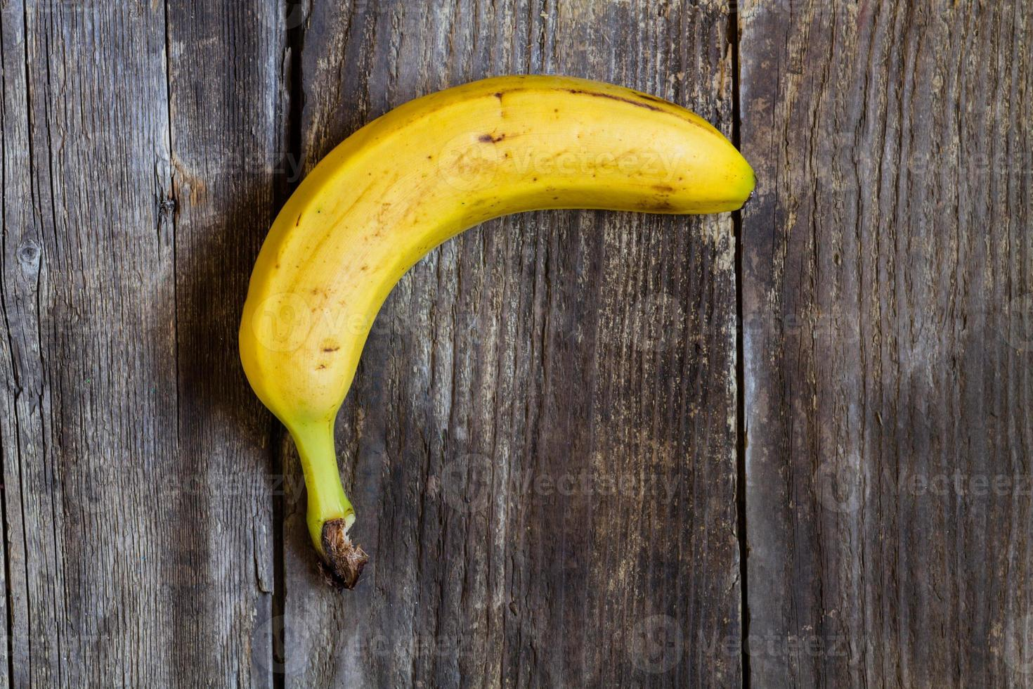 rijpe banaan foto