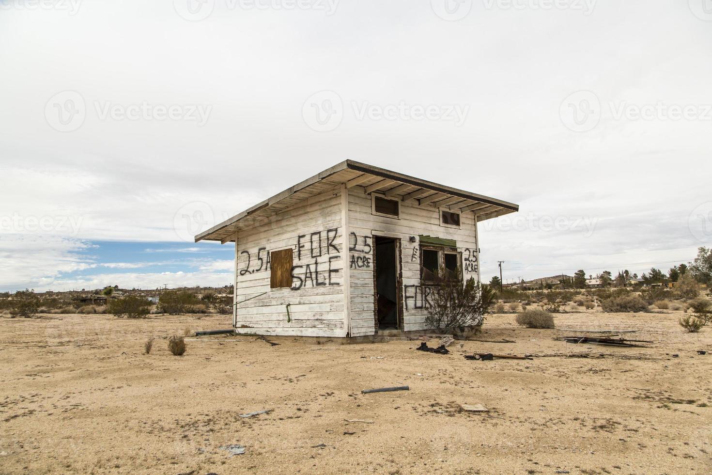verlaten huis. foto