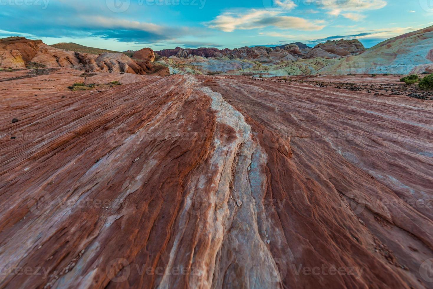 brand golf duo kleur rotsformaties patroon foto