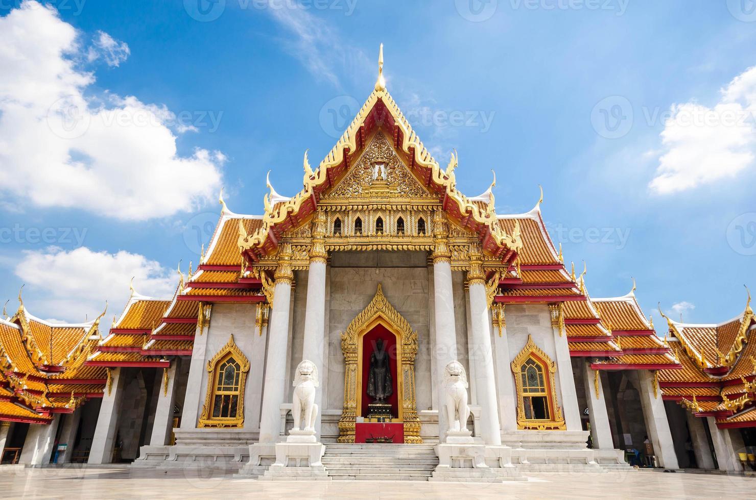 wat benchamabophit, bangkok, thailand foto