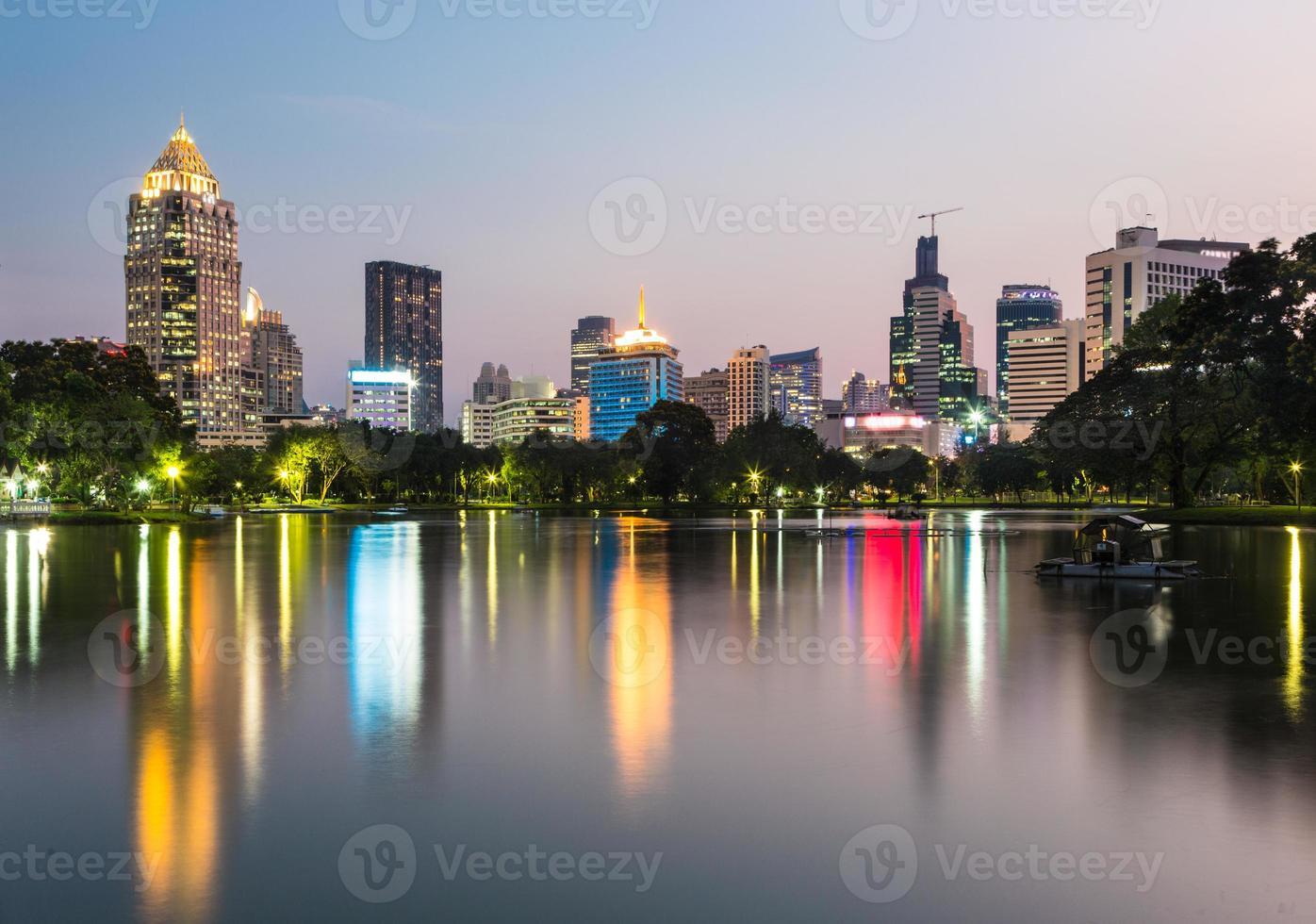 Lumphini Park in Bangkok foto