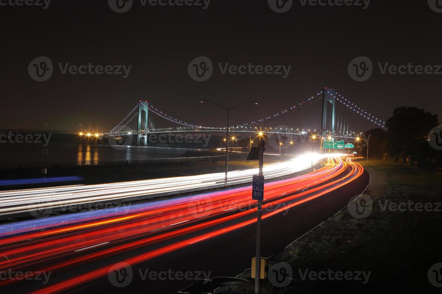 de langste brug in New York City foto