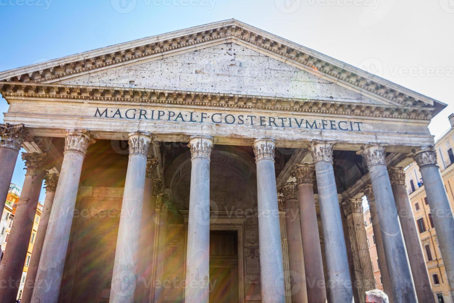 het pantheon van rome foto