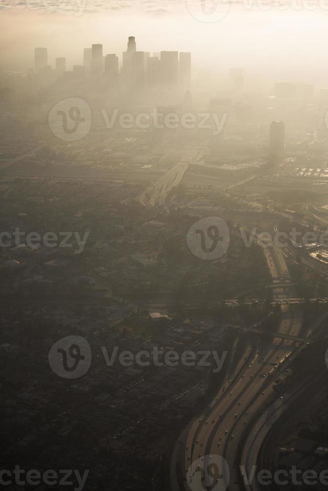 los angeles smog foto
