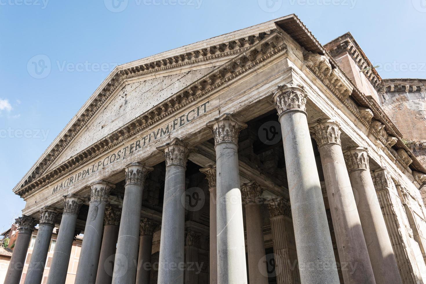 pantheon, rome, italië foto