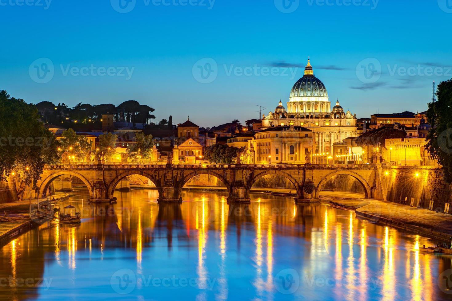 zicht op rome foto