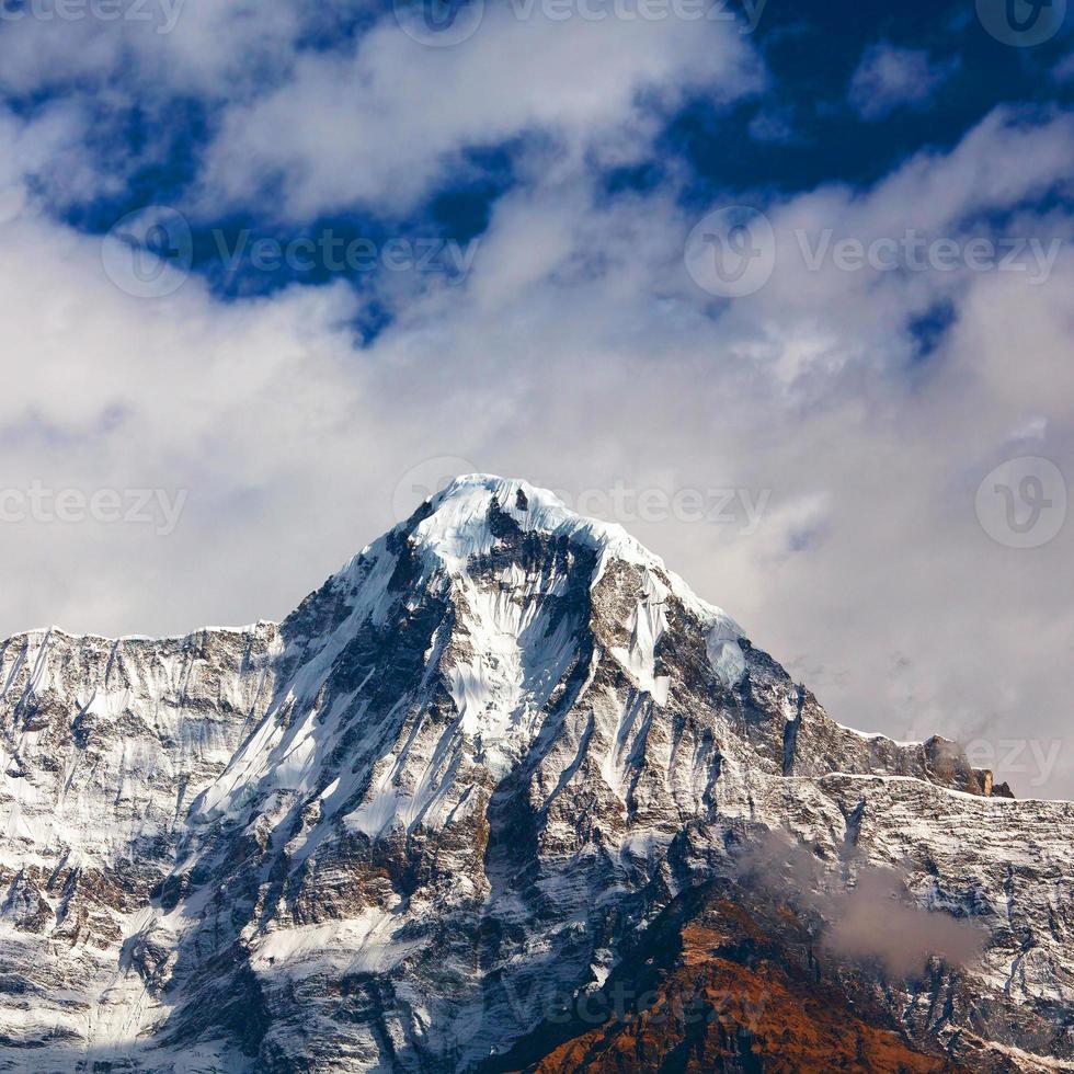 annapurna south peack, nepal foto