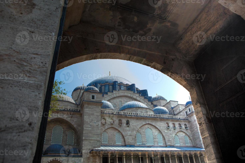 blauwe moskee, istanbul Turkije foto