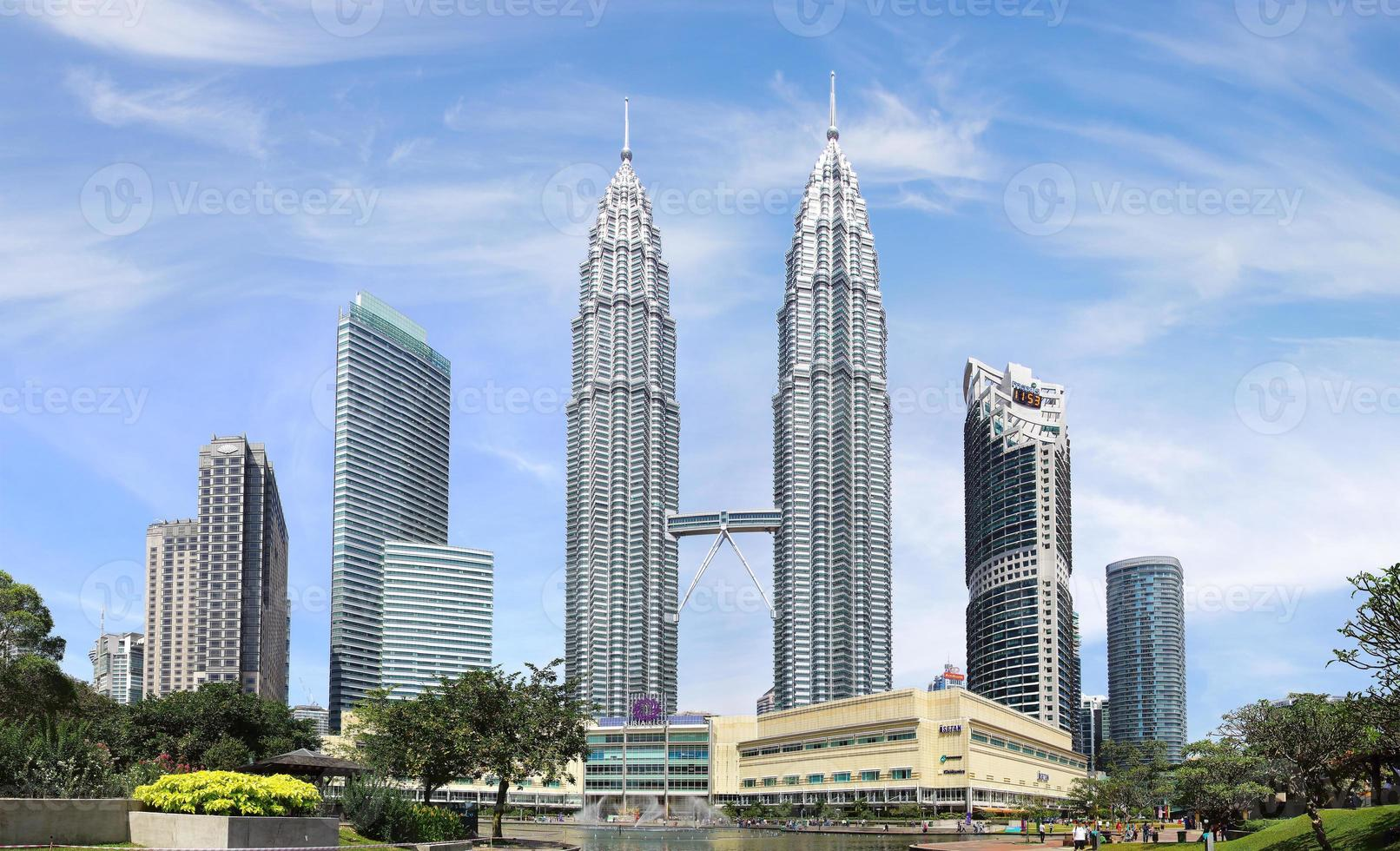 petronas twin towers. Kuala Lumpur, Maleisië foto