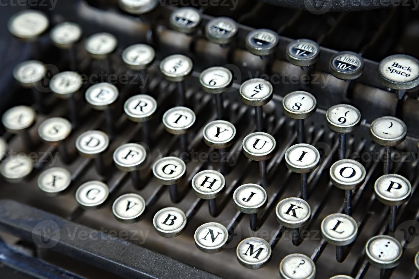 schrijfmachine foto