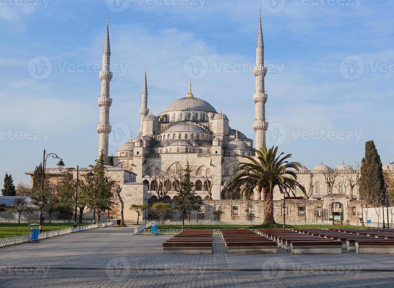 de blauwe moskee, istanbul foto