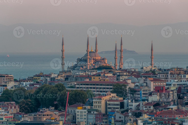 sultan ahmed moskee, blauwe moskee foto