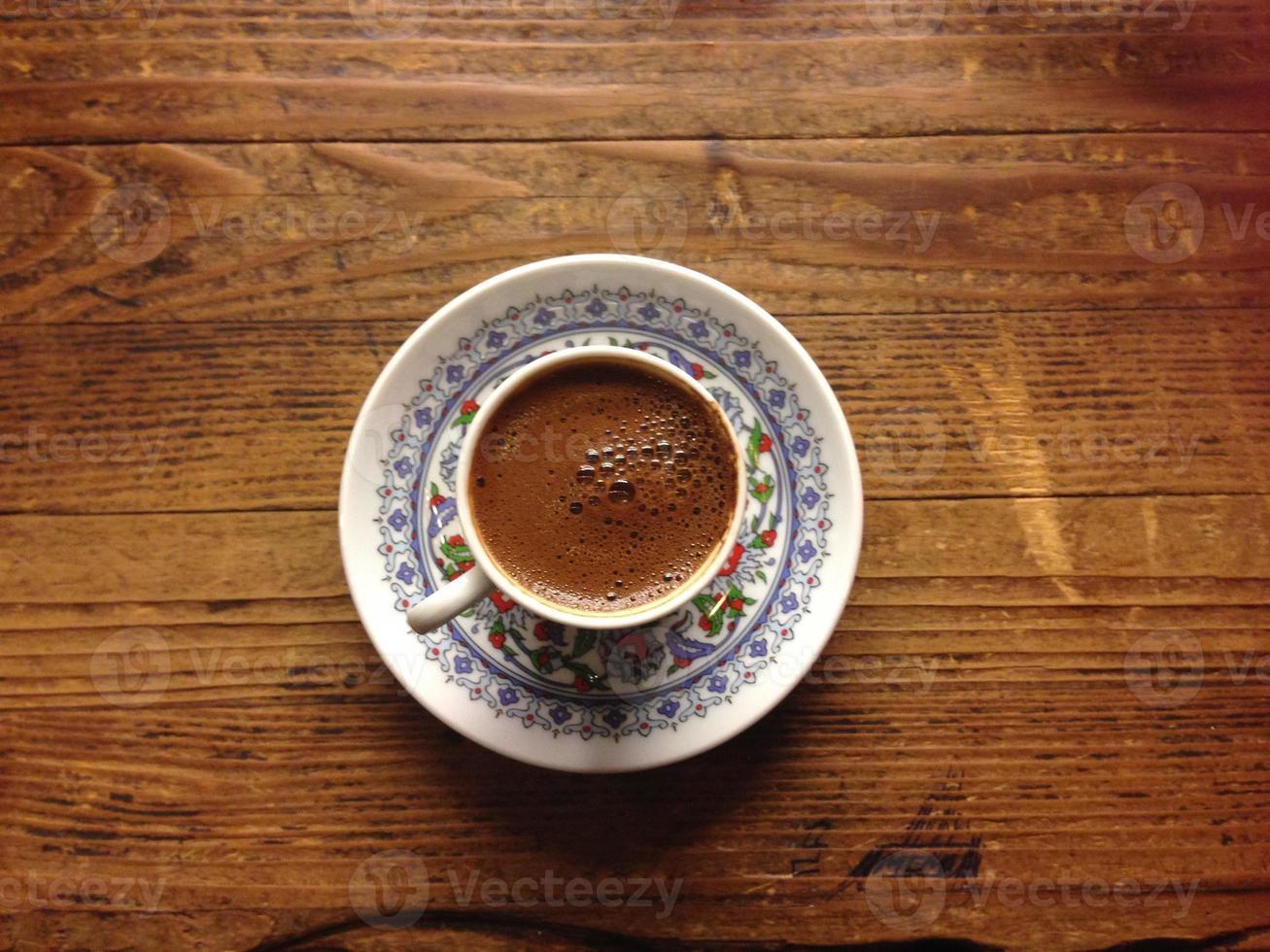 Turkse koffie foto