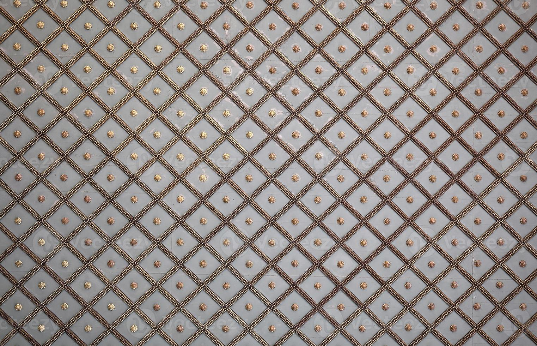 patroon in het plafond van het Topkapi-paleis, Istanbul foto