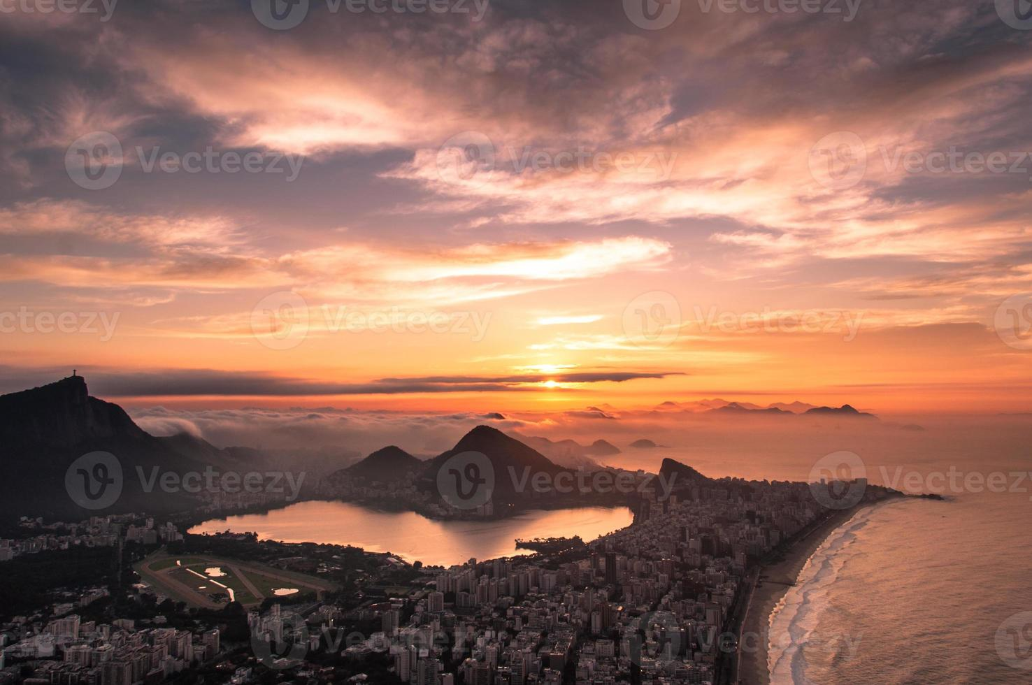 rio de janeiro zonsopgang foto