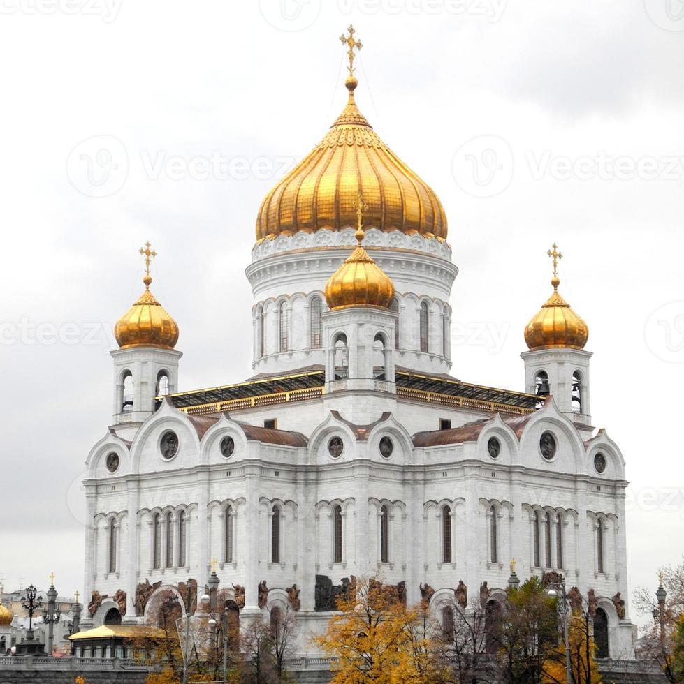 Moskou - kathedraal van Christus de Verlosser foto