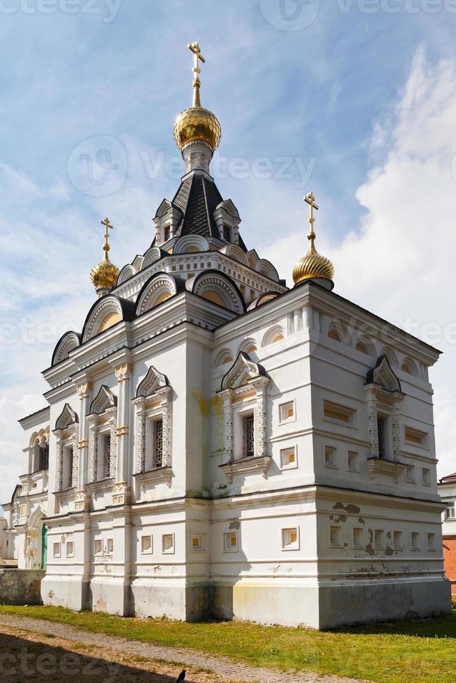 Elizabethaanse kerk in Dmitrov Kremlin, Rusland foto