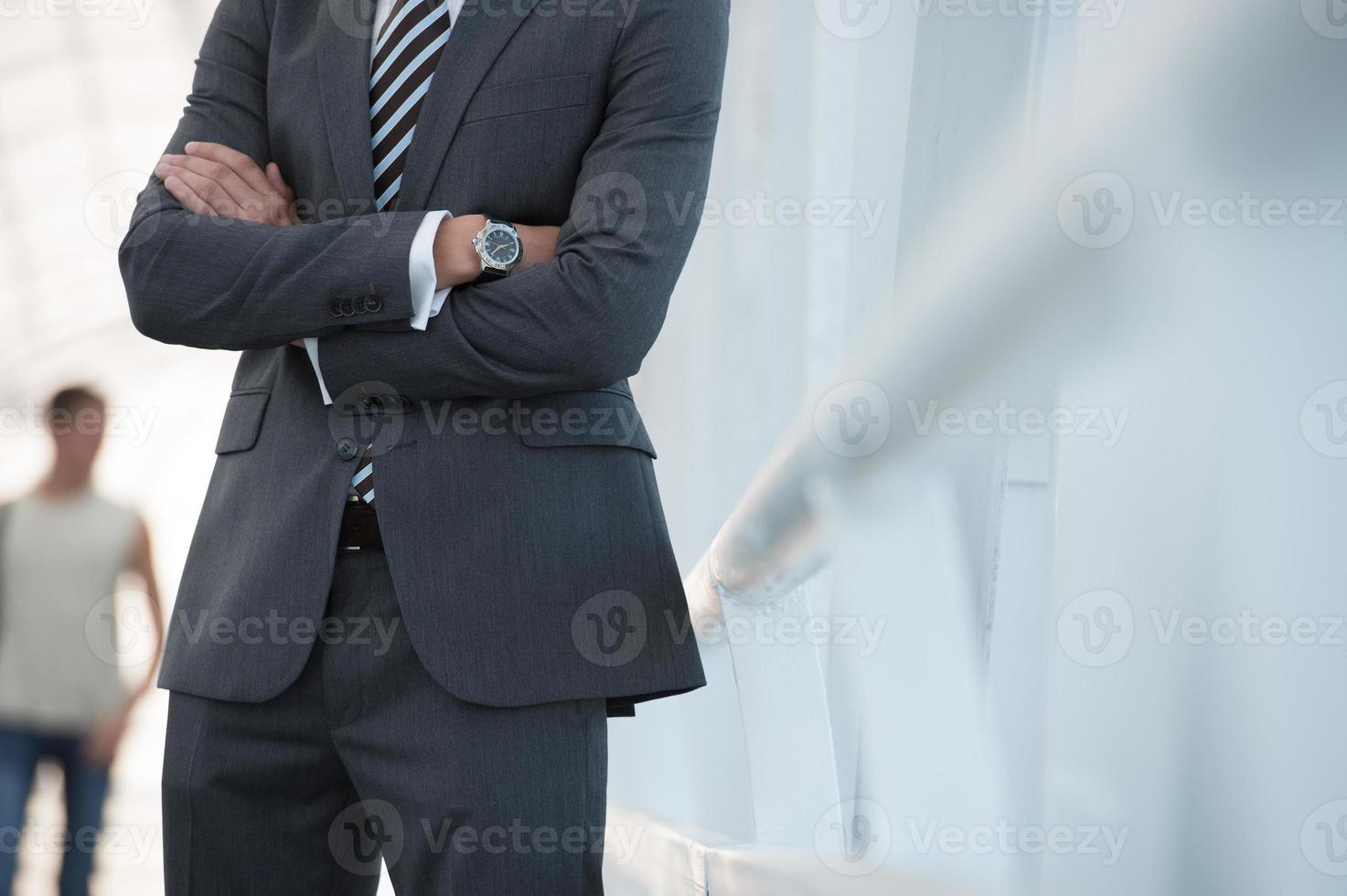 onherkenbare zakenman foto