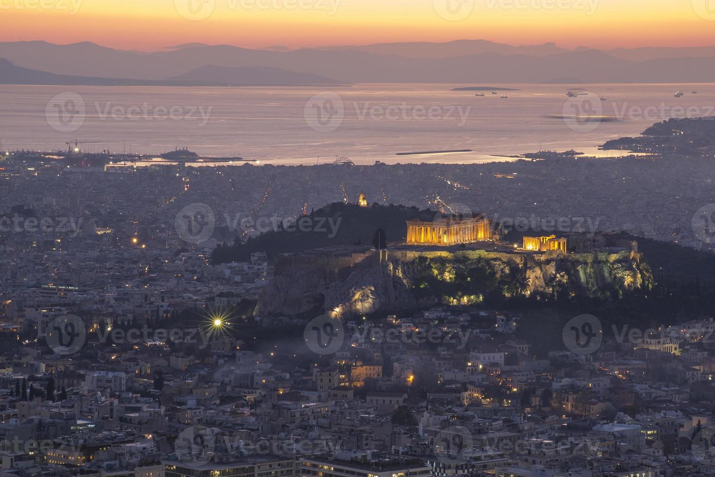 acropolis, Athene, Griekenland foto