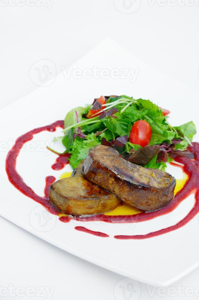 salade van foie gras foto