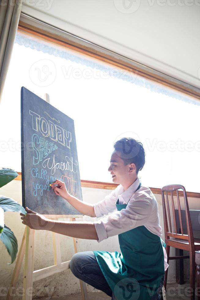 speciaal menu foto