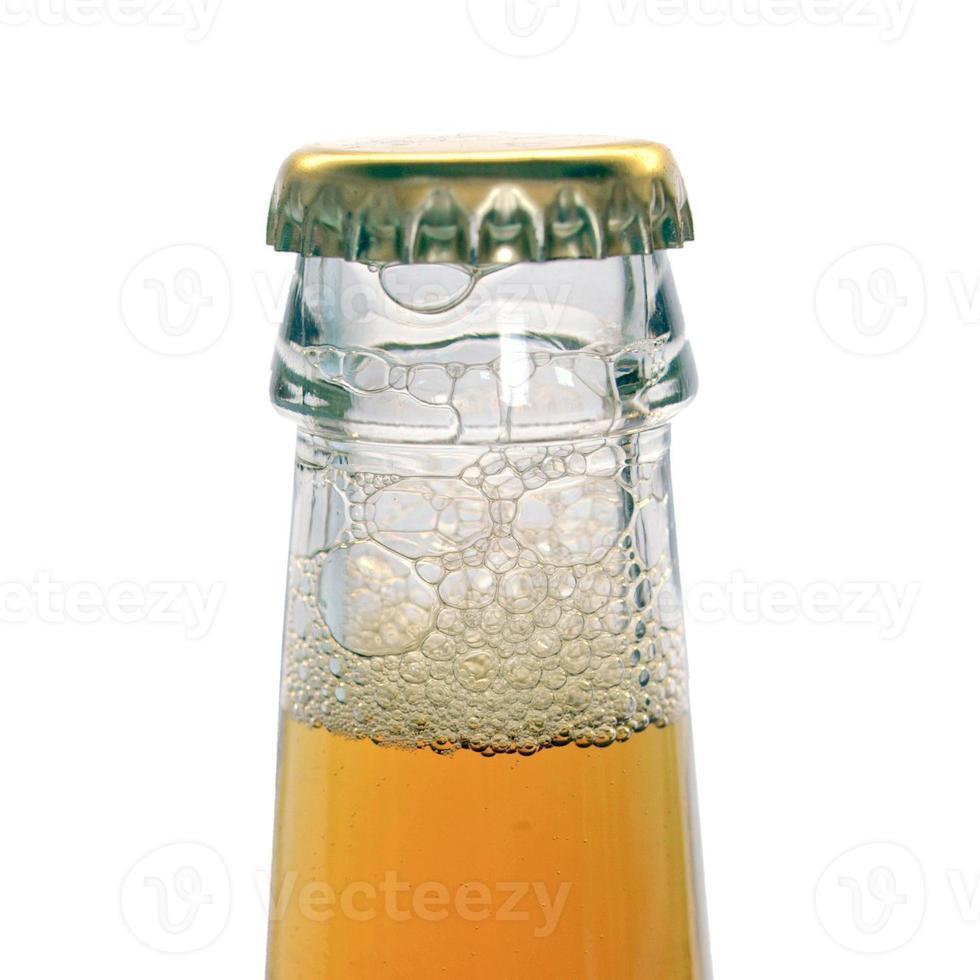 bier fles foto