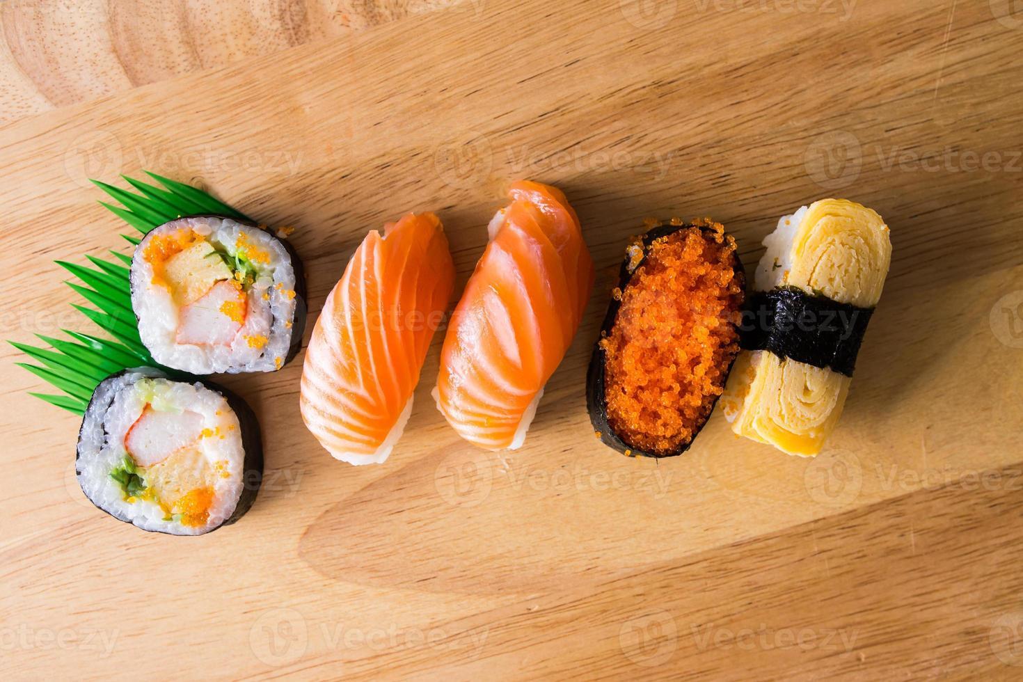 sushi en maki foto
