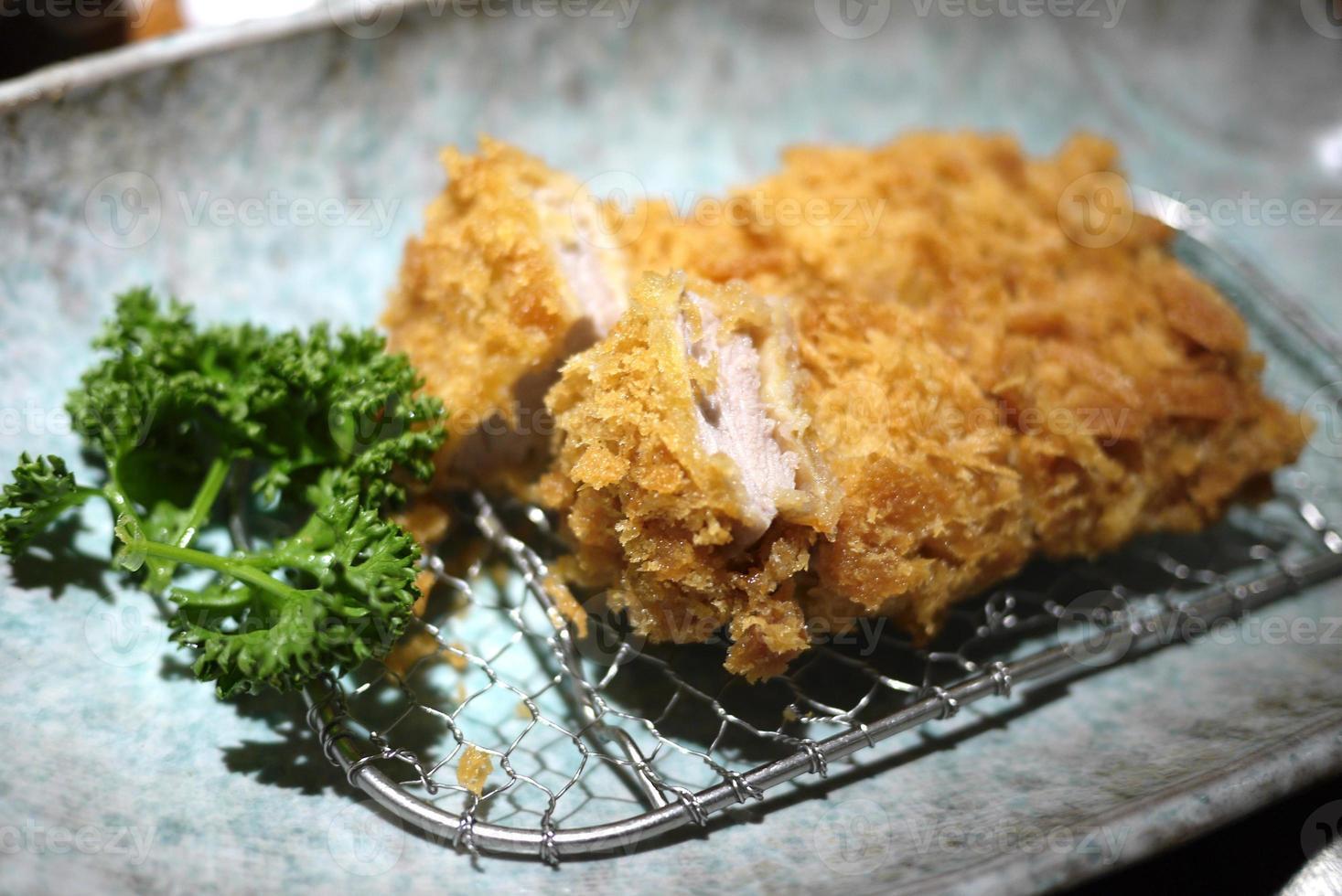 Japanse tonkatsu foto