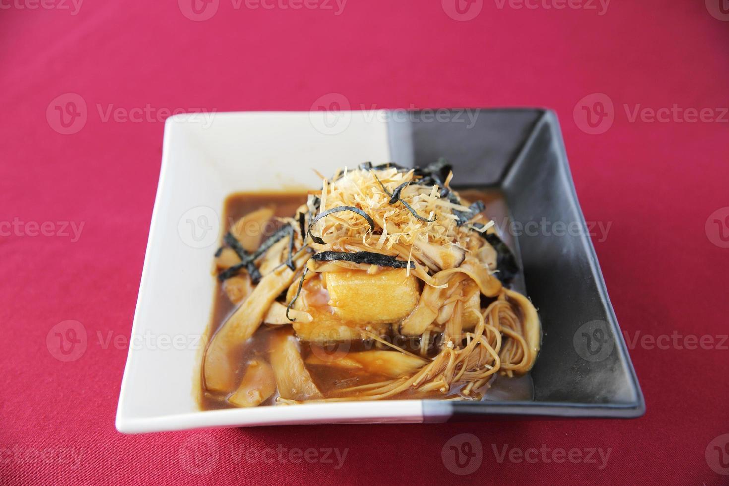 gefrituurde tofu foto