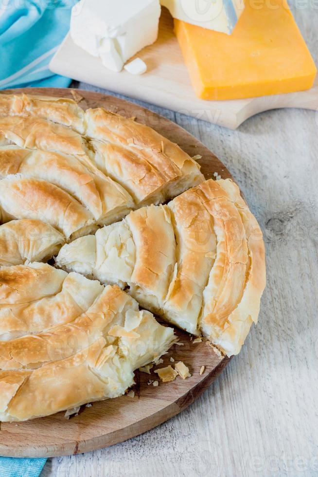 Griekse taart foto