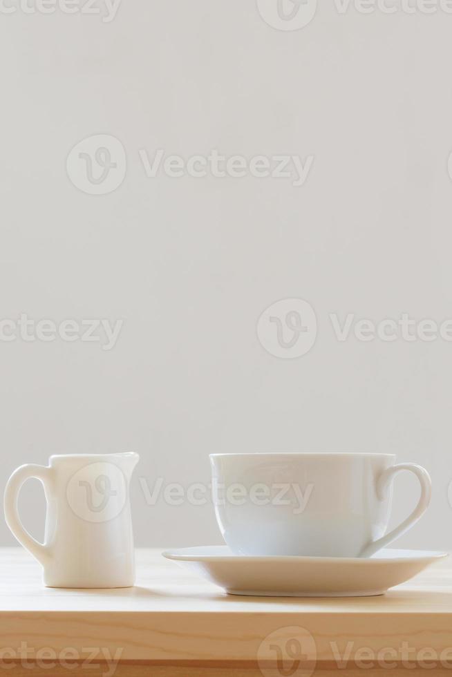 koffie en melk foto