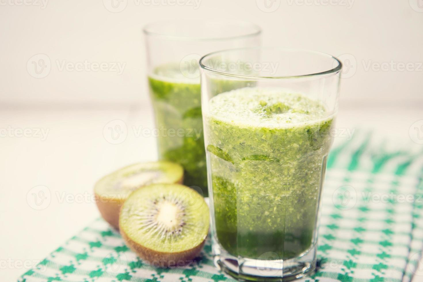 smoothie met kiwi foto