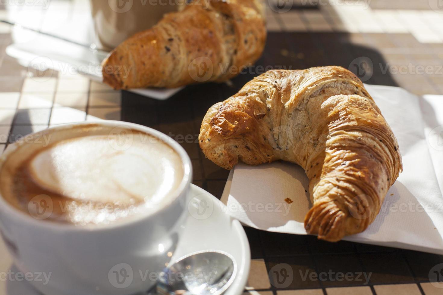 Europees ontbijt foto