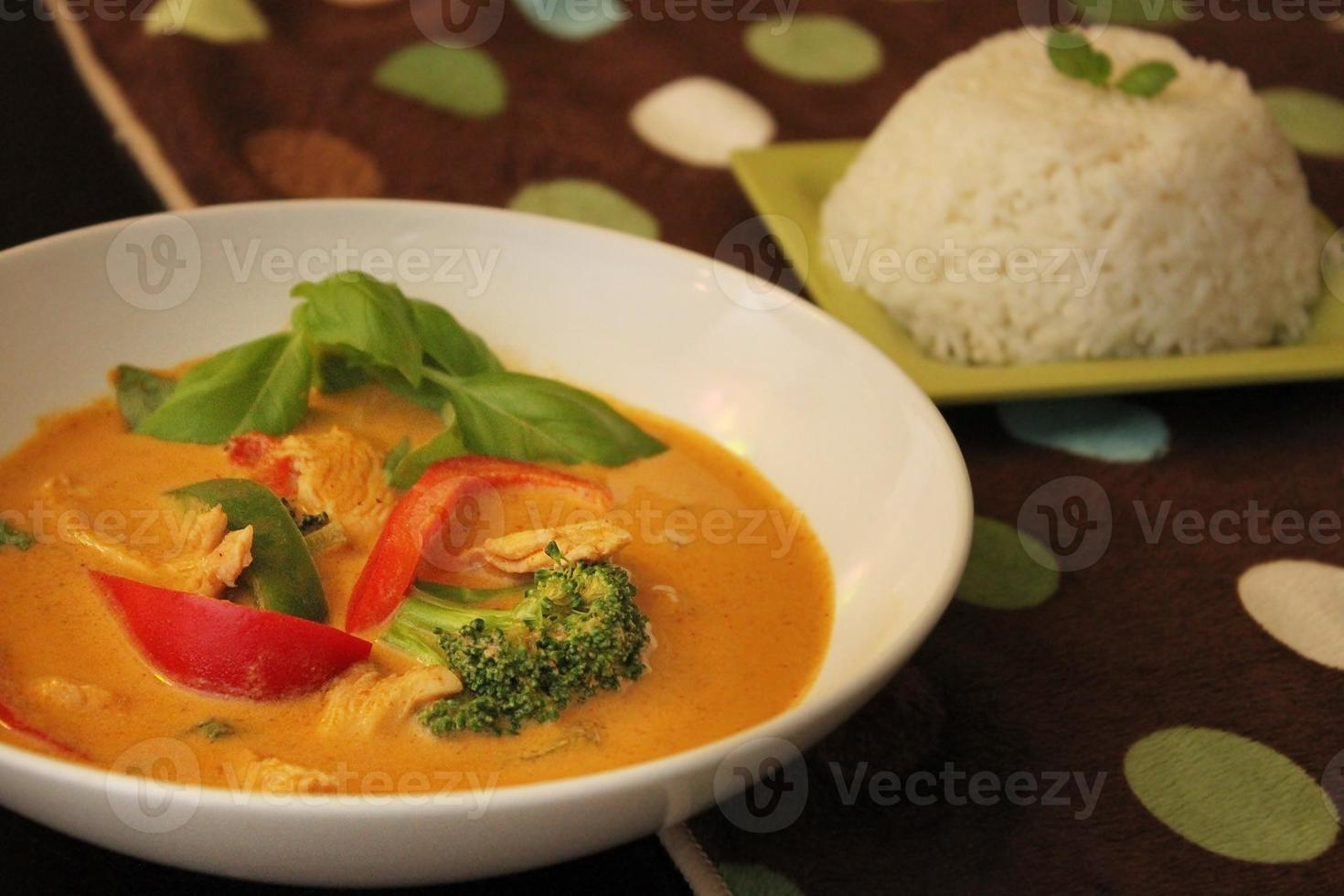 Thaise curry foto