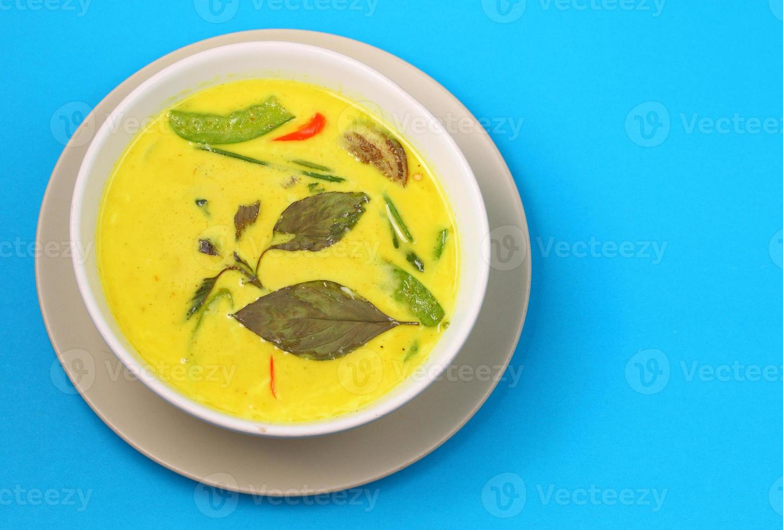groene curry van Thailand foto