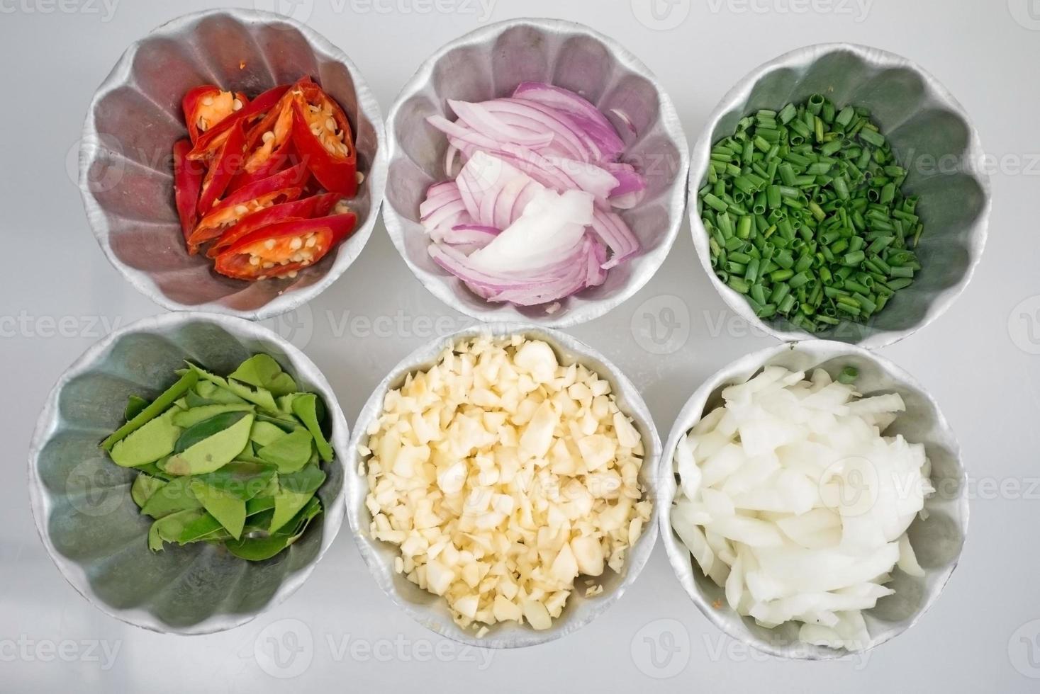Thaise voedselingrediënten foto
