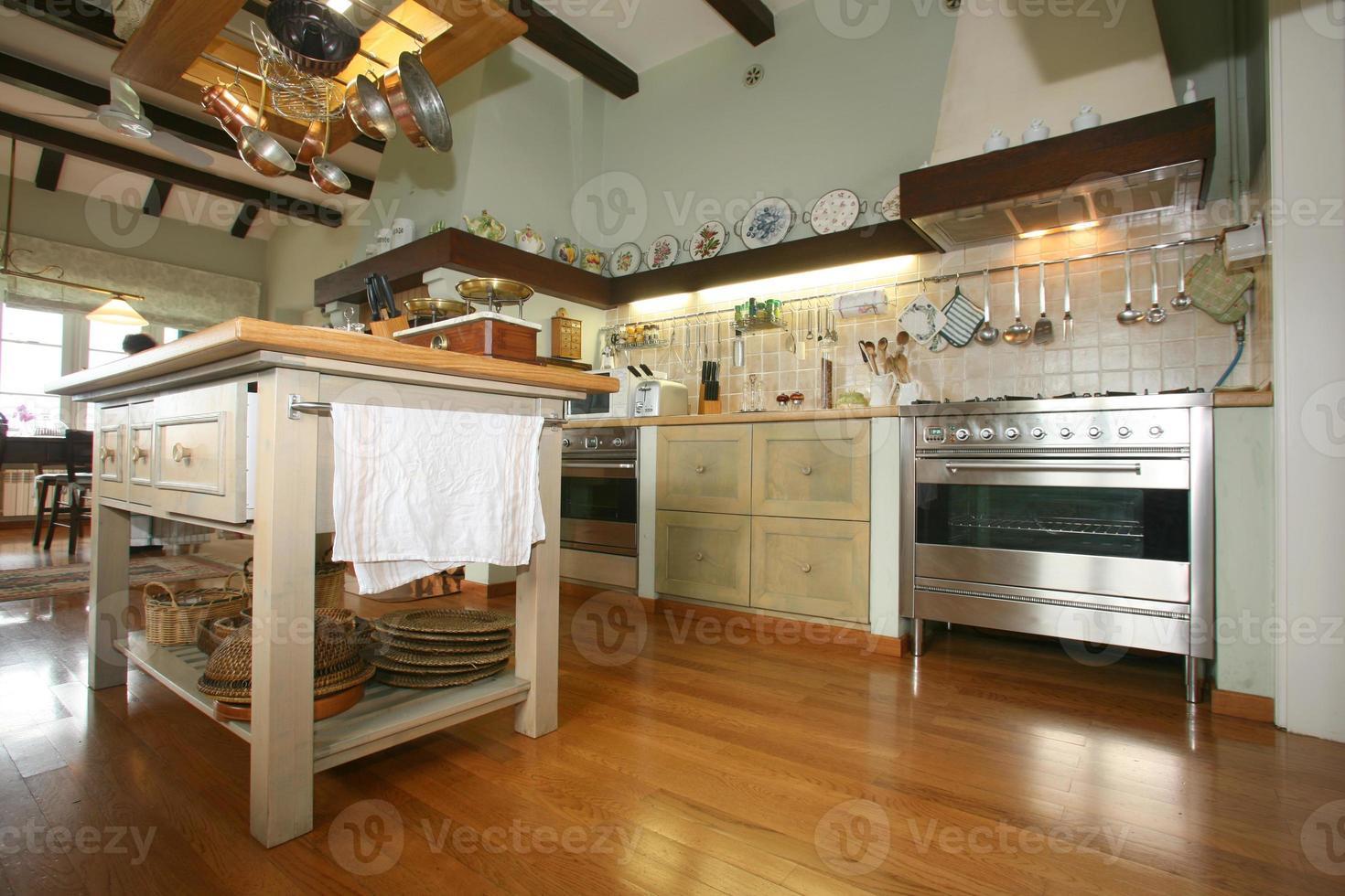 traditionele keuken foto