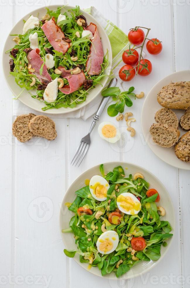 salat dag - wees gezond foto