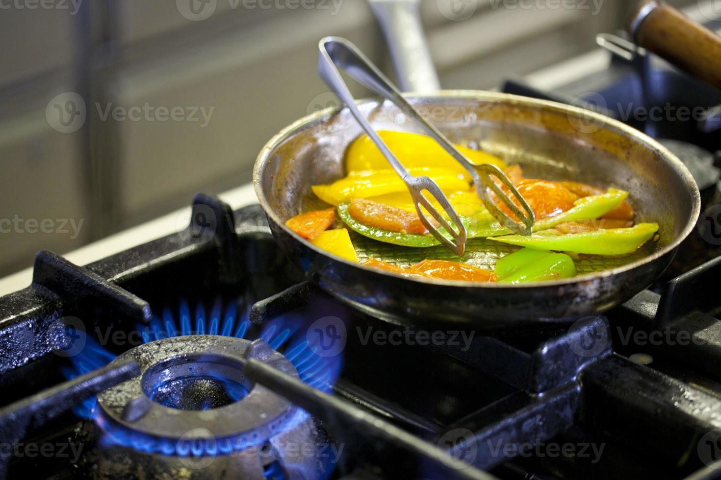 gebakken paprika's foto