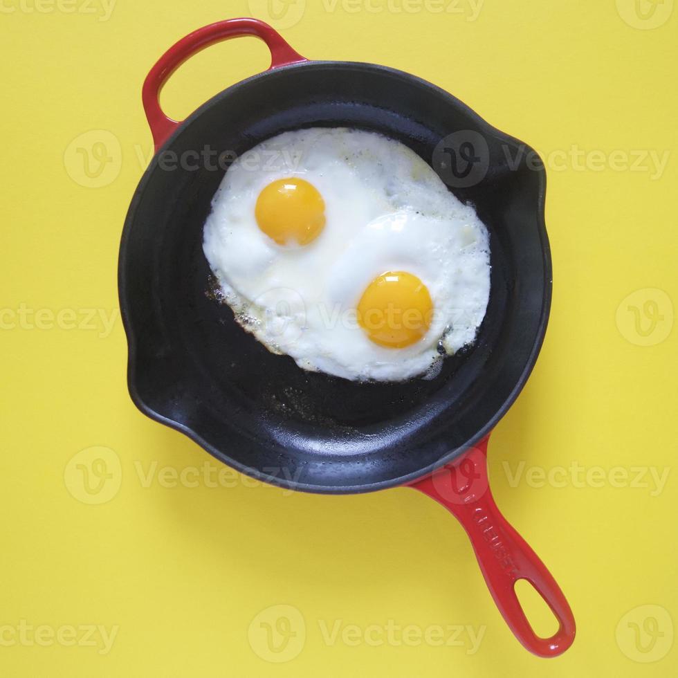 gebakken eieren foto