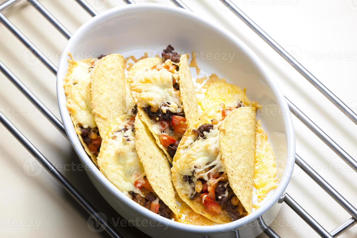 gebakken taco's foto