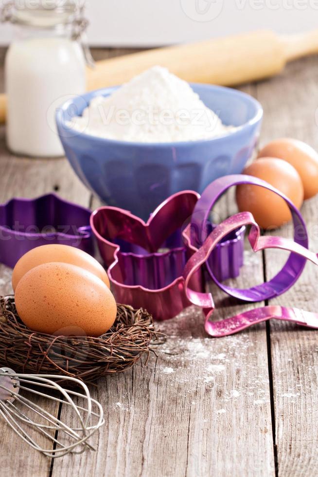 bakken voor Pasen foto