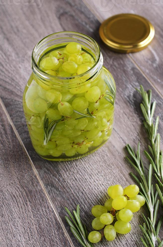 ingemaakte druiven foto